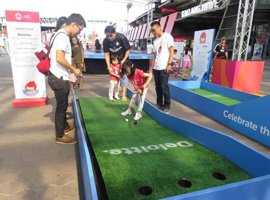 Trẻ em được tham gia các môn thể thao trò chơi ở SEA GAmes miễn phí