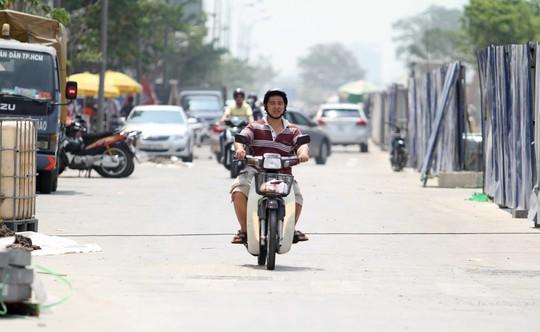 Chạy nước rút hoàn thành đường Nguyễn Huệ