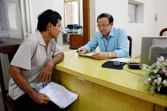 Tiếp công dân tại Văn phòng Tiếp công dân TP HCM Ảnh: HOÀNG TRIỀU
