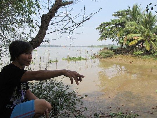 Người dân lo lắng dự án nạo vét của Công ty Hiệp Phước sẽ gây sạt lở bờ sông Đồng Nai