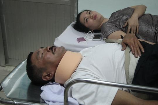 2 nạn nhân trong vụ tai nạn do xe của ca sĩ Hồ Ngọc Hà gây ra tại sân bay quốc tế Tân Sơn Nhất, tối 10-2