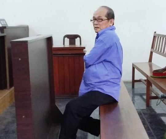 Bị cáo Huỳnh Ngọc Sương tại phiên tòa sơ thẩm sáng 8-6
