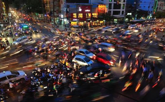 Ảnh đoạt giải ba HIPA thể loại ảnh ban đêm của nhiếp ảnh gia Nguyễn Tân
