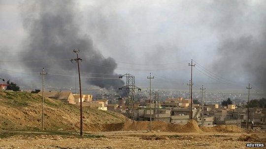 Liên quân do Mỹ dẫn đầu đã tiến hành nhiều đợt không kích chống IS