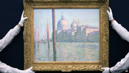 Tranh của Monet bán giá cao kỷ lục chỉ trong 1 giờ
