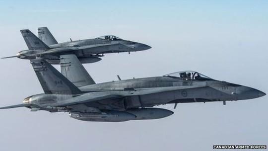 Máy bay CF-18 của Canada. Ảnh: Canadian armed forces