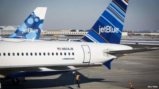 Hãng hàng không JetBlue công bố dịch vụ chuyến bay thuê bao đến Cuba. Ảnh: Reuters