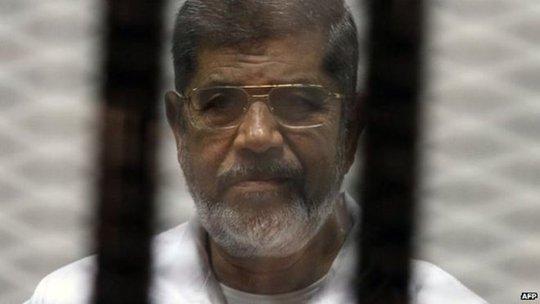 Ông Mohammed Morsi. Ảnh: BBC