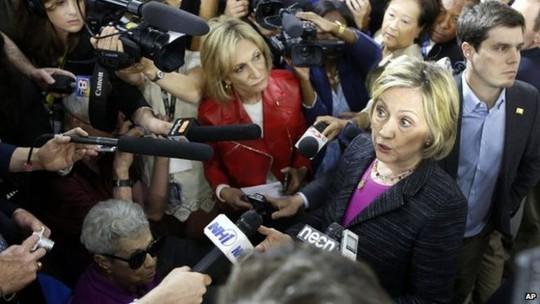 Bà Hillary Clinton đang là ứng viên tiềm năng của Đảng Dân chủ trong cuộc tranh cử Tổng thống 2016. Ảnh: AP