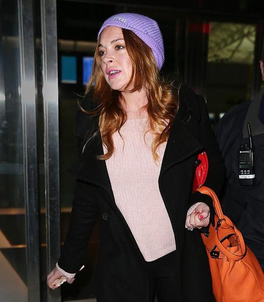 Lindsay Lohan nhập viện vì... muỗi cắn