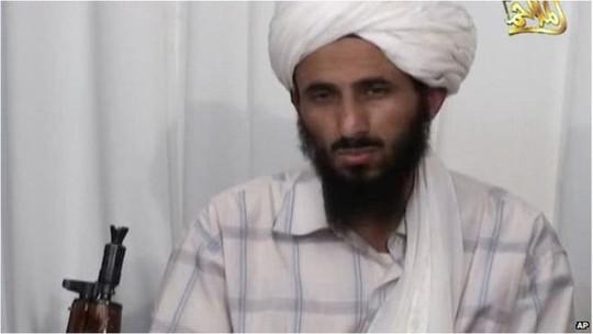 Thủ lĩnh Nasser al-Wuhayshi của nhánh Al-Qaeda tại Yemen đã bị tiêu diệt. Ảnh: AP
