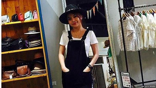 SaSa là diễn viên nổi tiếng ở Campuchia