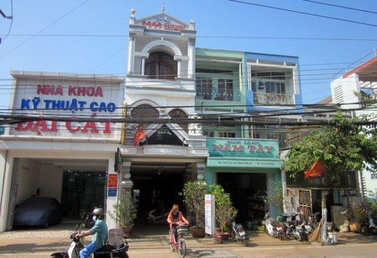 Khách sạn nơi xảy ra vụ mất trộm của 2 vợ chồng Việt kiều Mỹ - Ảnh: Hoài Thương (Tuổi Trẻ)