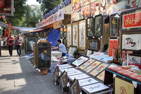 Hiện nay, phố ông đồ như một nét văn hóa đẹp ngày xuân của Sài Gòn