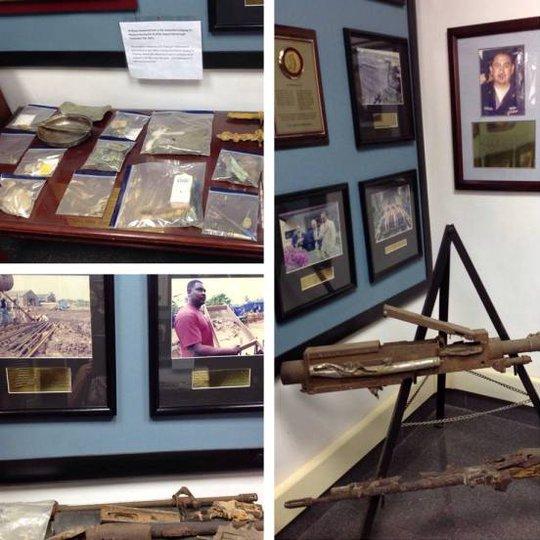 Những hiện vật bên trong Văn phòng tìm kiếm người Mỹ mất trong chiến tranh