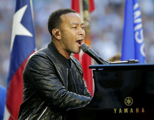 Ca sĩ John Legend Ảnh: REUTERS