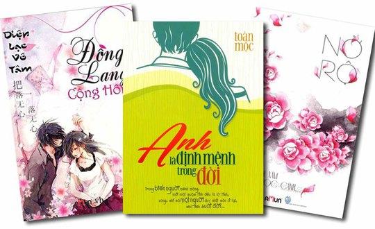 Ba cuốn sách đã bị thu hồi