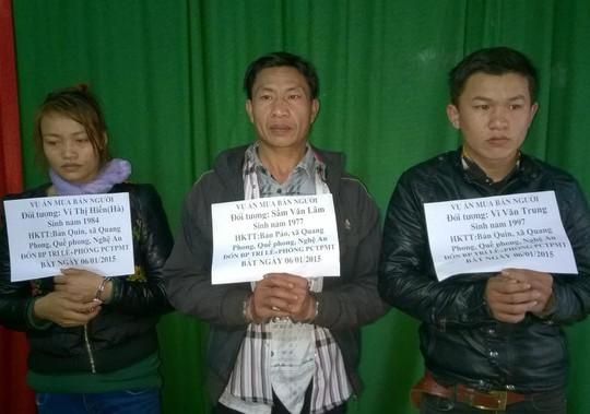 Các đội tượng bị lực lượng BĐBP Nghệ An bắt giữ. Ảnh: Hải Thượng
