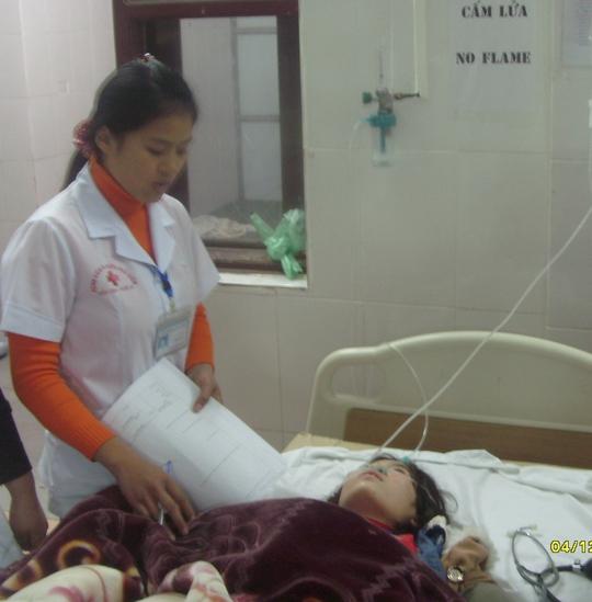 Sau một ngày điều trị sức khỏe của các công nhân đã ổn định.