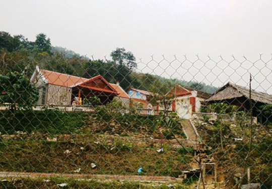 Trang trại nhà ông Bí thư Huyện ủy Thạch Thành, nơi 12 con dê cấp cho hộ nghèođi lạc vào