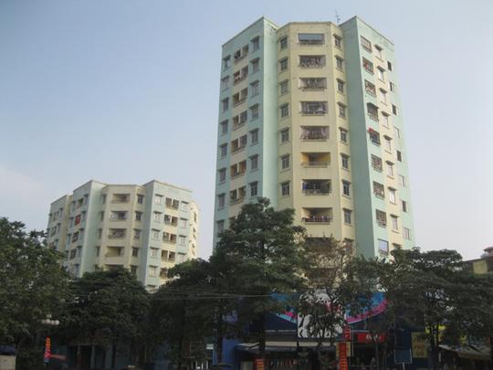 Chung cư 9B, khu đô thị mới Đại Kim, Phường Đại Kim, Quận Hoàng Mai (Hà Nội), nơi liên tục xảy ra sự cố thang máy