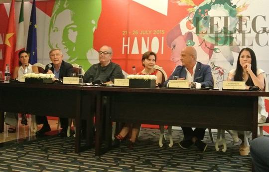 Họp báo giới thiệu về Liên hoan Phim Ý Moviemov 2015 và Triển lãm Thời trang