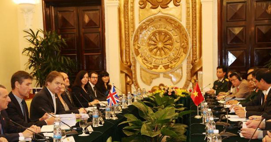 Quang cảnh Đối thoại chiến lược Việt Nam - Anh lần thứ tư