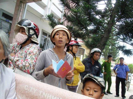 Nguyễn Thị Phạm Din cho rằng trước khi chết, sức khỏe ông Chiêm vẫn bình thường