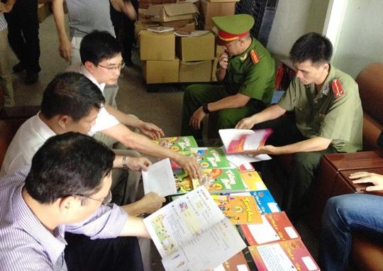 Số sách có dán tem nhái tem chống giả của NXB Giáo dục Việt Nam