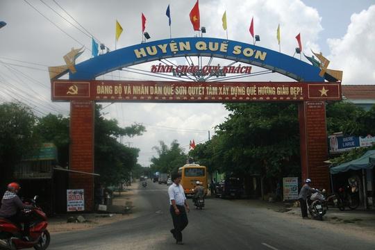 """Trong thời gian ngắn, huyện Quế Sơn nổi tiếng vì xuất hiện 2 vụ quan """"ăn"""" gà, cán bộ xã """"ăn"""" nhím"""