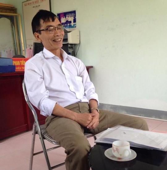 Thầy Phan Tiến Hưng cho rằng số tiền 400.000 đồng là tạm ứng của năm sau