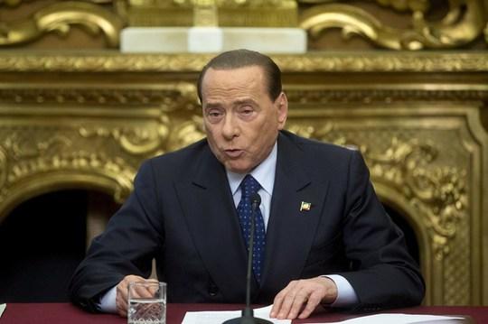 Cựu Thủ tướng Ý Silvio Berlusconi được tuyên bố trắng án. Ảnh: AAP