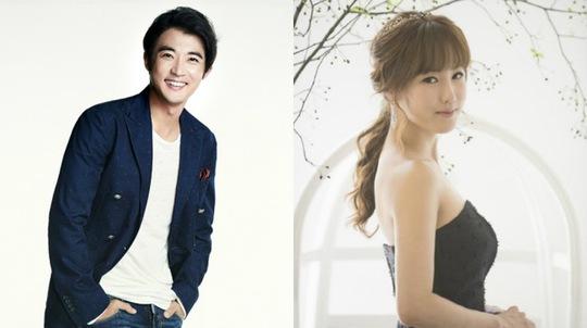 Ahn Jae Wook và vợ sắp cưới