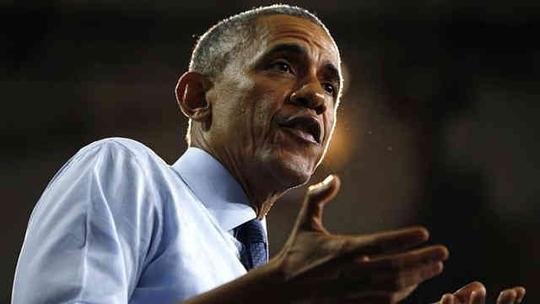 Tổng thống Mỹ Barack Obama cho rằng Nga đã hỗ trợ vụ tấn công tên lửa mới nhất ở miền Đông Ukraine. Ảnh: Reuters