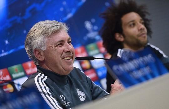 Ông Ancelotti thừa nhận khó khăn khi đối đầu với HLV Simeone