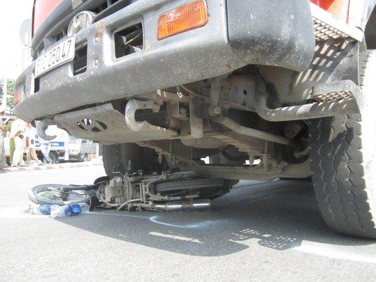 Vụ tai nạn khiến giao thông bị ùn tắc nhiều giờ