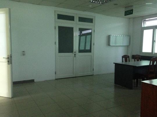 Phòng bệnh ở tầng 2, Khoa Ung bướu, Bệnh viện Đà Nẵng được chuẩn bị để đón ông Nguyễn Bá Thanh về điều trị
