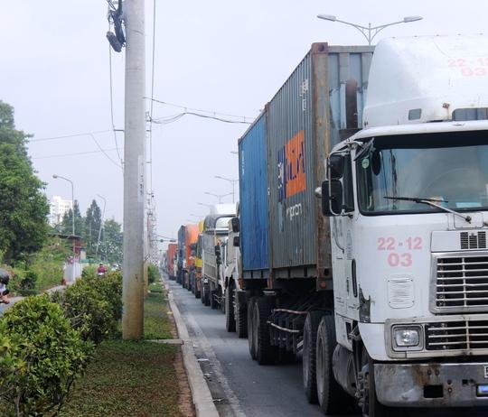 Vụ việc làm giao thông qua khu vực bị ảnh hưởng