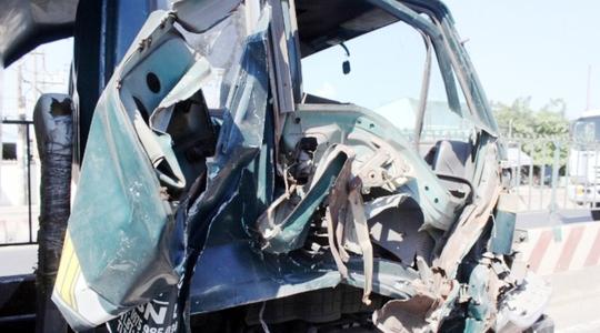 Tai nạn liên hoàn, Quốc lộ 1 ùn tắc 2 giờ