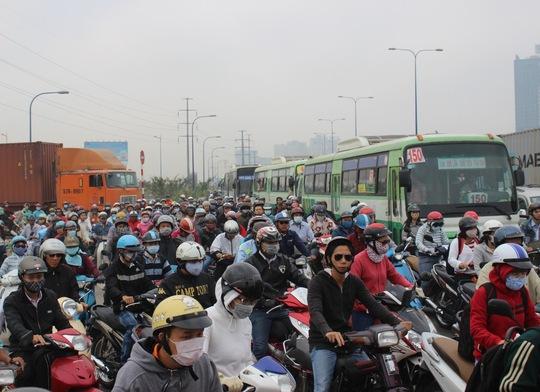 Việc xây dựng tuyến xe buýt nhanh sẽ giảm lượng phương tiện cá nhân