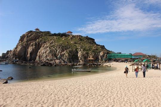 Một góc đảo Hòn Nội đẹp ngất ngây