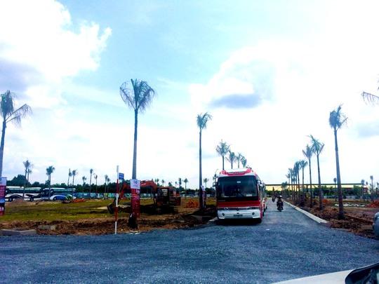 Dự án Khu dân cư thương mại Cát Tường Phú Thạnh có mức giá chỉ từ 218 triệu đồng/nền.