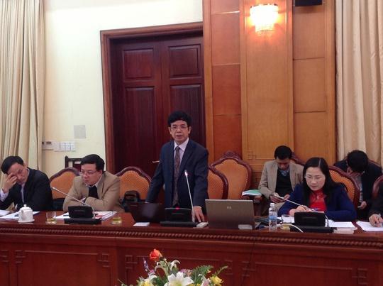 Ông Lê Hồng Hạnh phát biểu tại hội thảo Ảnh: LONG THẮNG