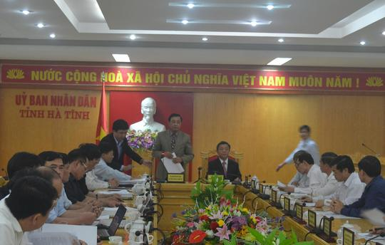 TTCP công bố kêt luận sai phạm về đất đai tại Hà Tĩnh vào chiều ngày 25-3.