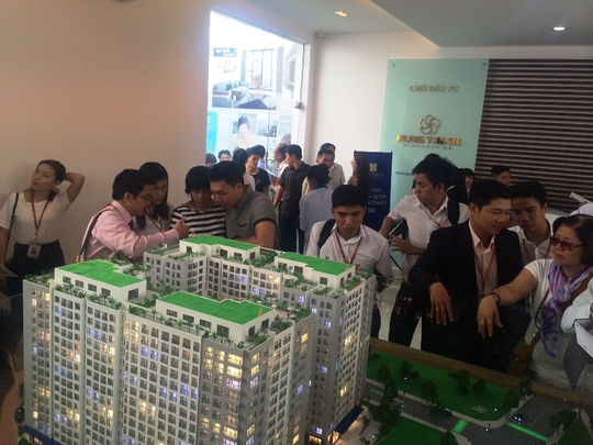 Một dự án do Hung Thinh Corp đang triển khai
