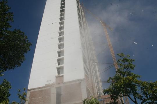 Khách sạn Mường Thanh, nơi em Thắng đi phụ hồ kiếm tiền học và gặp tai nạn thương tâm