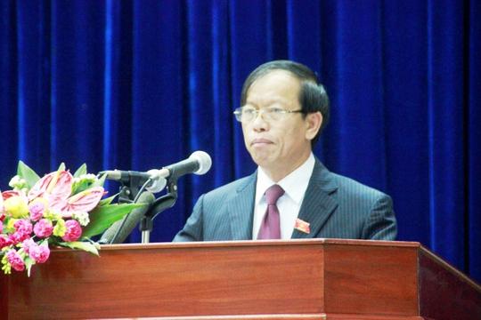 Ông Lê Phước Thanh năm nay 59 tuổi, vừa được bầu giữ chức Bí thư Tỉnh ủy Quảng Nam cuối tháng 2 năm nay