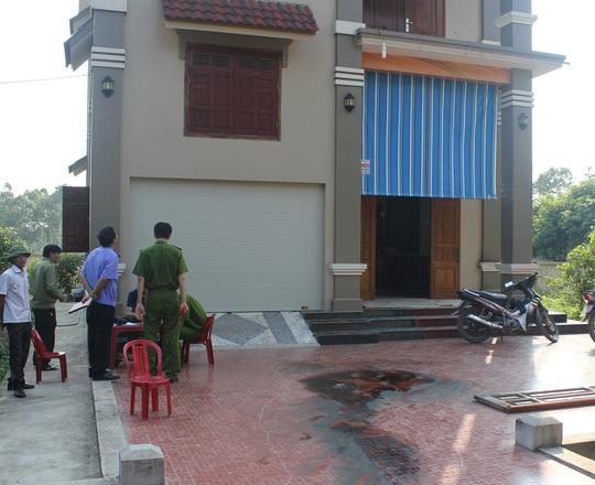 Căn nhà nơi xảy ra vụ việc.