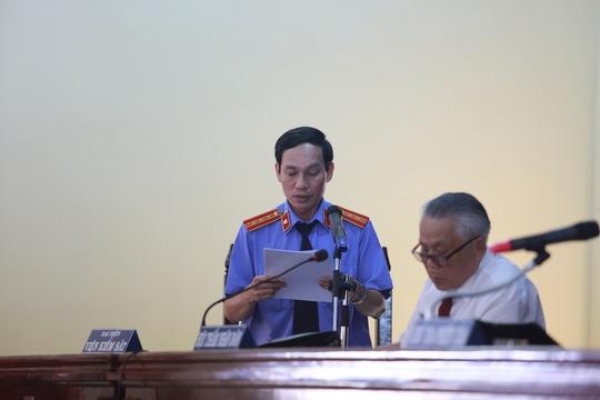 KSV Phạm Duy Tân luận tội các bị cáo