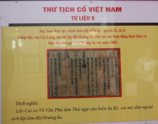 Tư liệu lịch sử khẳng định Hoàng Sa, Trường Sa là của Việt Nam